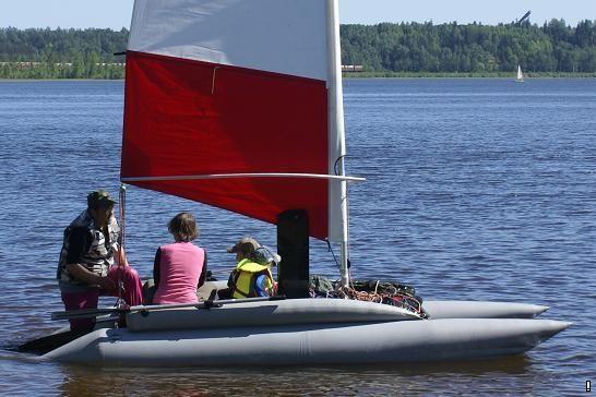 парусно моторная лодка цена